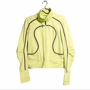 Lululemon RARE Neon Tracker Jacket